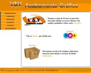 Site V&V Acabamento