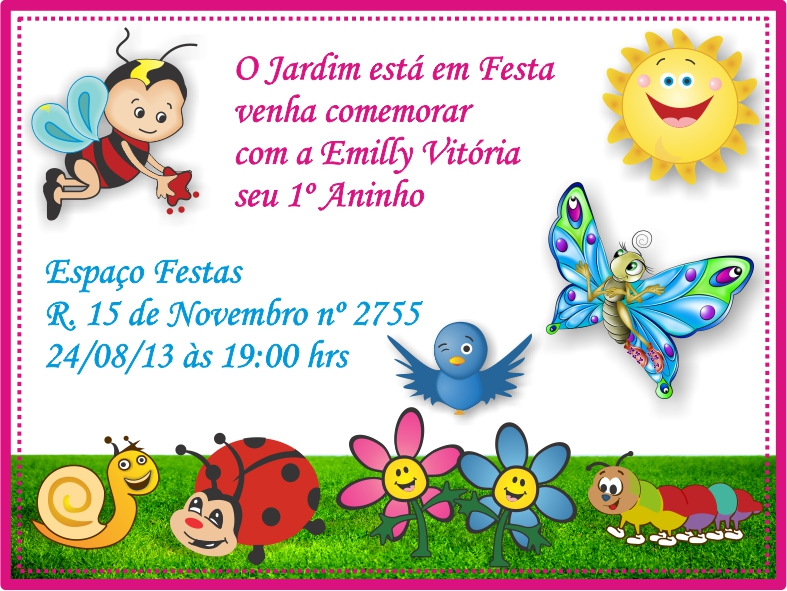 Convite De Aniversário Valdeir Gomes